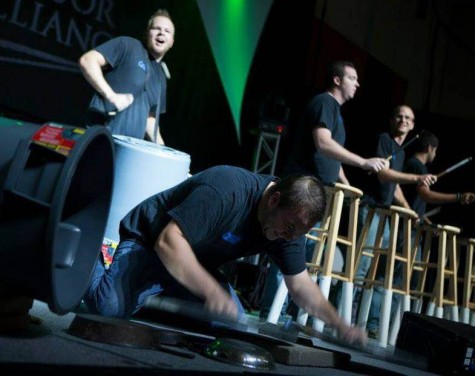 Omaha Street Percussion offers a way for children and adults to uniquely create music