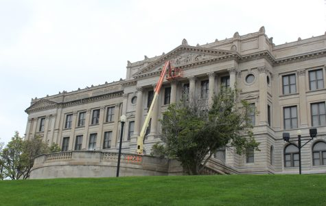Exterior of building to be cleaned throughout school year