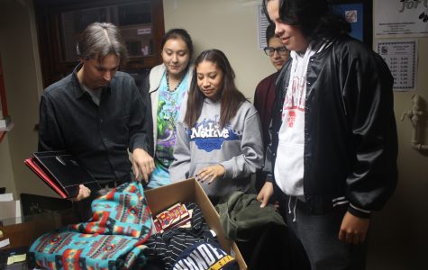 Protests mount, Native American student group rises in support