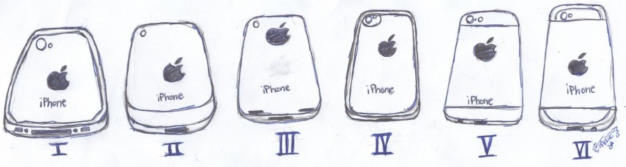 The rumored iphone 6