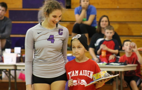 Senior volleyball player does it all, plans to teach