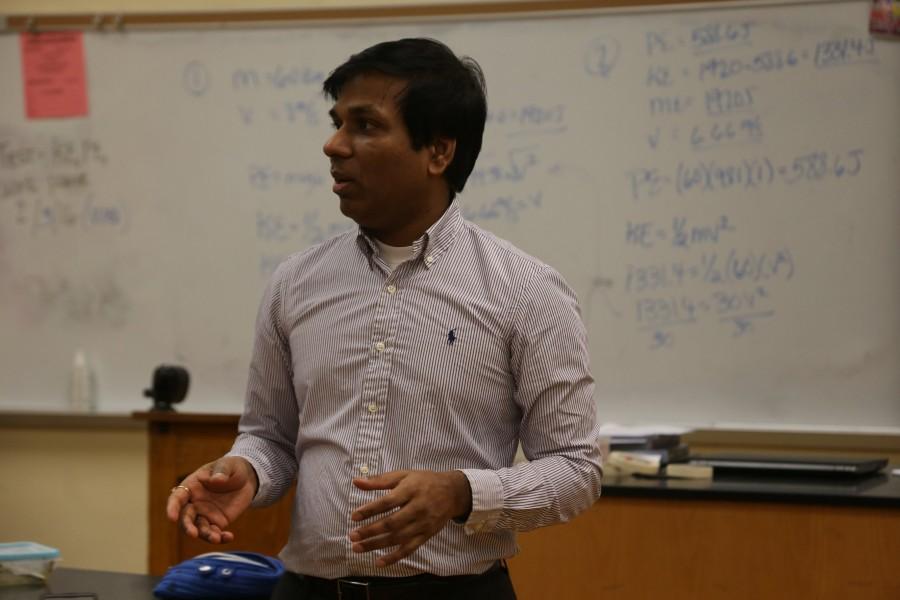 Physics teacher finds new