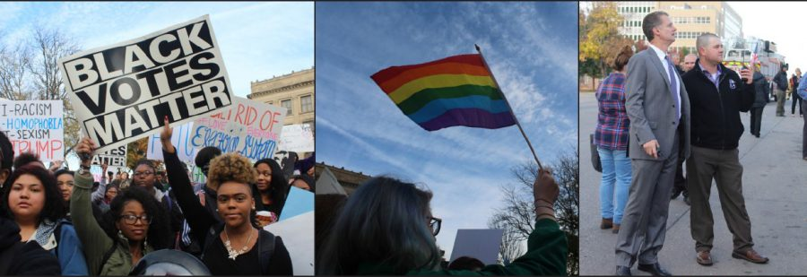 Peaceful protest leads to national recognition