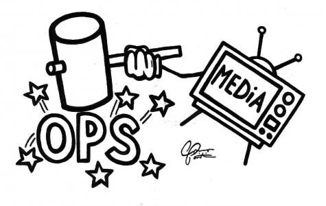 Local news media unfair, slanted against OPS