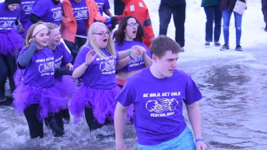 Polar Plunge club raises awareness, gets more students involved