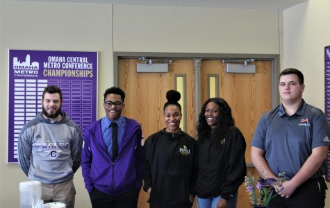 Five students commit to continue athletic careers in college