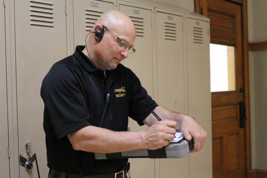 Long time security guard retires after six years at Central