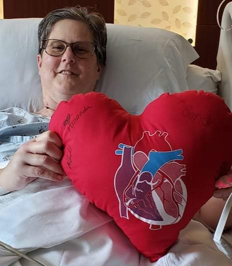 Mrs. Obner 15 days post transplant