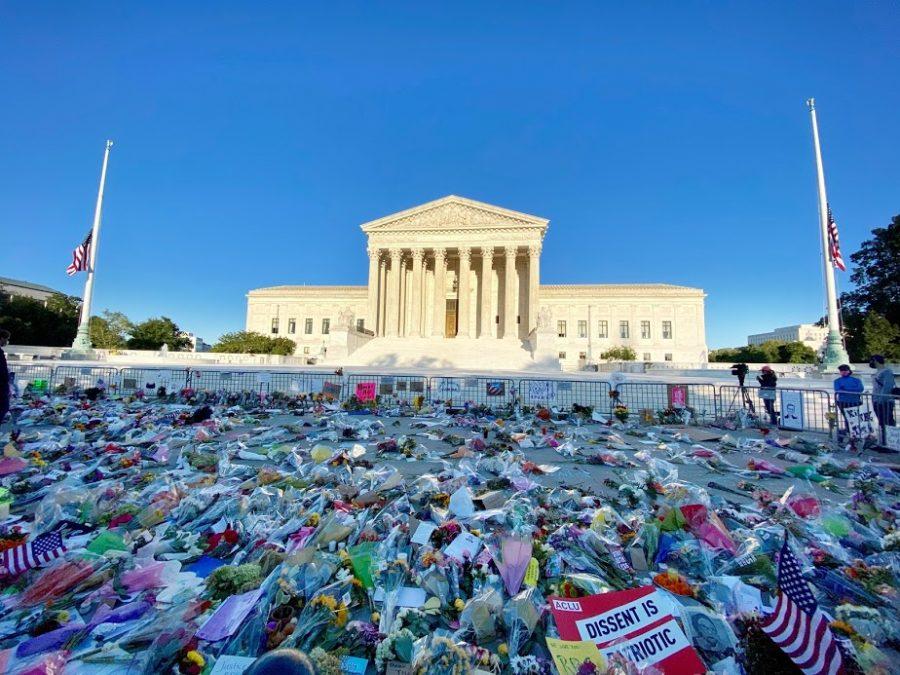 RBG memorial in DC