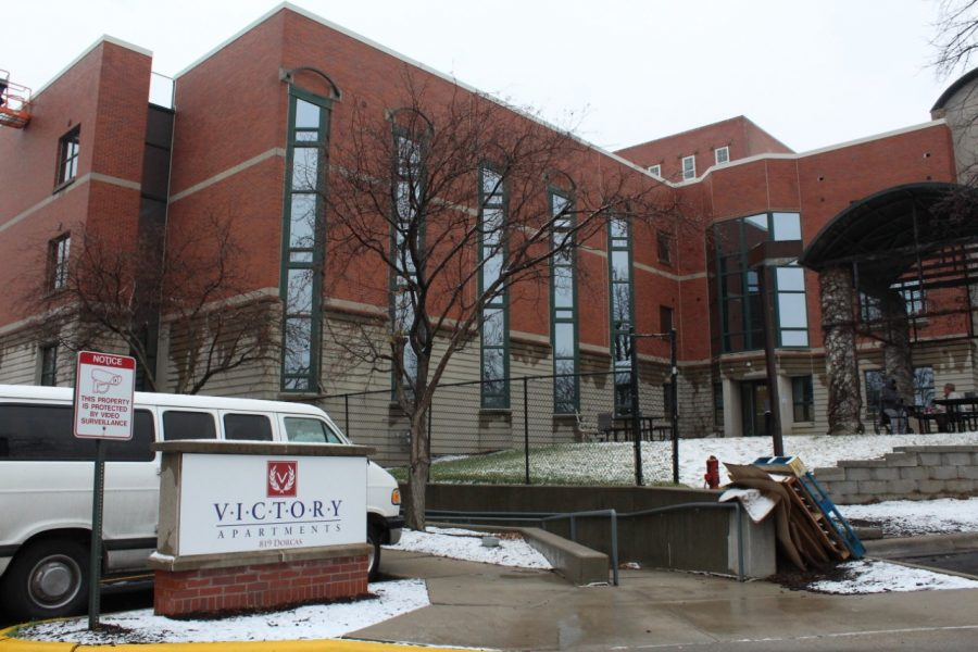 Victory II houses homeless veterans and provides rehabilitation and job help. The building used to belong to Grace University and was built in 2013.