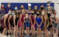 Sophomore balances time between lifeguarding, swim team, school